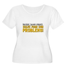 Dear Math Plus Size T-Shirt