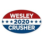 Trek Wesley Crusher 2016 Sticker - This funny election design is for fans of Star Trek The Next Generation's infamous acting ensign. Vote Wesley Crusher in 2016! - Availble Colors: White,Clear