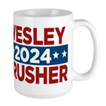 Trek Wesley Crusher 2016 Mugs - This funny election design is for fans of Star Trek The Next Generation's infamous acting ensign. Vote Wesley Crusher in 2016!