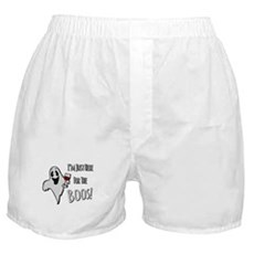 Im Here for the Boos Boxer Shorts