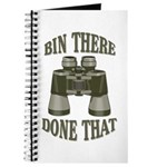 Bin There Done That Journal