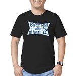 Birds Well With Others Men's Fitted T-Shirt (dark)
