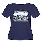 Coed Naked Birding Women's Plus Size Scoop Neck Da