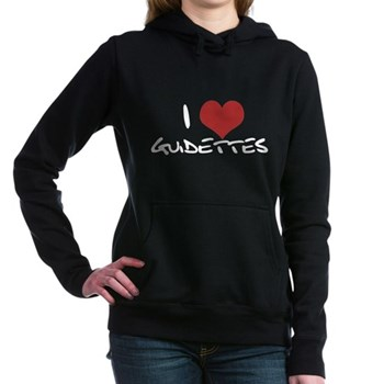 I Heart Guidettes Woman's Hooded Sweatshirt