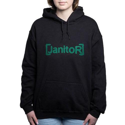 Scrubs Janitor Woman's Hooded Sweatshirt