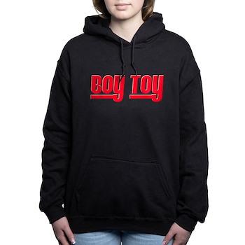 Boy Toy - Red Woman's Hooded Sweatshirt