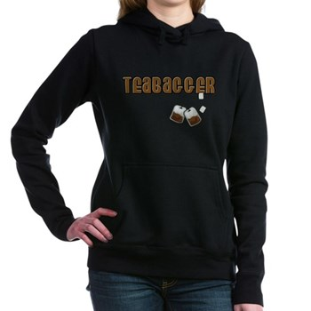 Teabagger Woman's Hooded Sweatshirt
