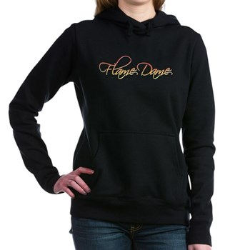 Flame Dame Woman's Hooded Sweatshirt
