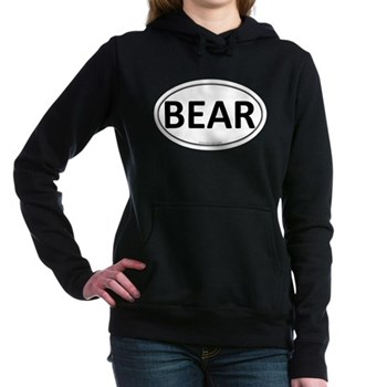 BEAR Euro Oval Woman's Hooded Sweatshirt