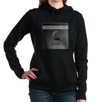 Carbon (C) Woman's Hooded Sweatshirt