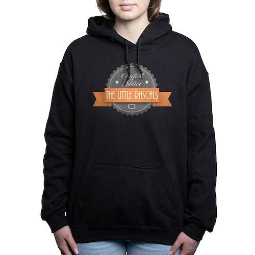 Certified Addict: The Little Rascals Woman's Hooded Sweatshirt