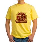 Lifelist Club - 700 Yellow T-Shirt