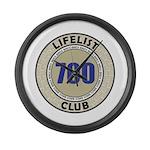 Lifelist Club - 700 Large Wall Clock