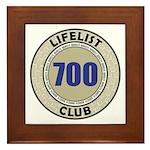 Lifelist Club - 700 Framed Tile