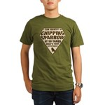 Birder Superhero Organic Men's T-Shirt (dark)