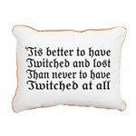 Twitched & Lost... Rectangular Canvas Pillow