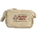Ask Me About Warbler Neck Messenger Bag