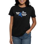 May Warbler Neck Awarness Mon Women's Dark T-Shirt