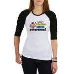 Support Warbler Neck Awareness Jr. Raglan