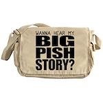 Big Pish Story Messenger Bag