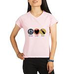 Peace Love Pish Performance Dry T-Shirt