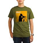 iBird (orange) Organic Men's T-Shirt (dark)