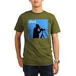iBird (blue) Organic Men's T-Shirt (dark)