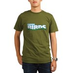 Finding Birds Organic Men's T-Shirt (dark)
