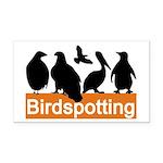 Birdspotting Rectangle Car Magnet