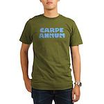 Carpe Annum Organic Men's T-Shirt (dark)
