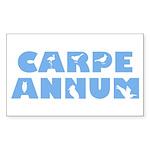 Carpe Annum Sticker (Rectangle)