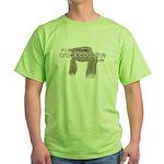 Crack for Gulls Green T-Shirt