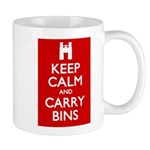 Keep Calm Carry Bins Mug