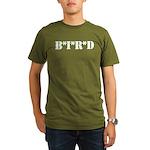 B * I * R * D Organic Men's T-Shirt (dark)