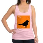 iRing (orange) Racerback Tank Top