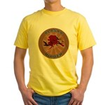 Alaska Birder Yellow T-Shirt