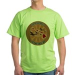 Hawaii Birder Green T-Shirt