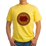 Iowa Birder Yellow T-Shirt