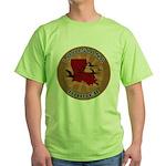 Louisiana Birder Green T-Shirt