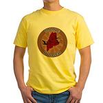 Maine Birder Yellow T-Shirt