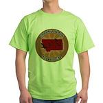 Montana Birder Green T-Shirt