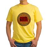 North Dakota Birder Yellow T-Shirt