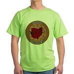Ohio Birder Green T-Shirt