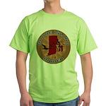 Rhode Island Birder Green T-Shirt