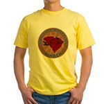 South Carolina Birder Yellow T-Shirt