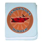 Tennessee Birder baby blanket