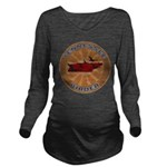 Tennessee Birder Long Sleeve Maternity T-Shirt