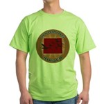Wyoming Birder Green T-Shirt