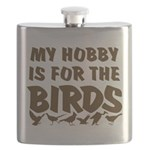 Hobby for the Birds Flask