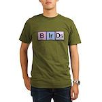 Elements of Birding Organic Men's T-Shirt (dark)